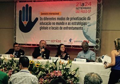 Seminario Internacional sobre privatización de la Educación